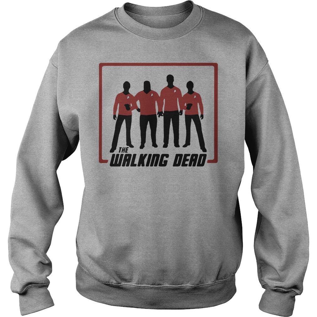 The working dead Star Trek shirtThe working dead Star Trek shirt
