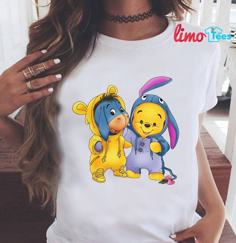 1549656b Eeyore and Winnie the Pooh t-shirt - limotees-net.over-blog.com