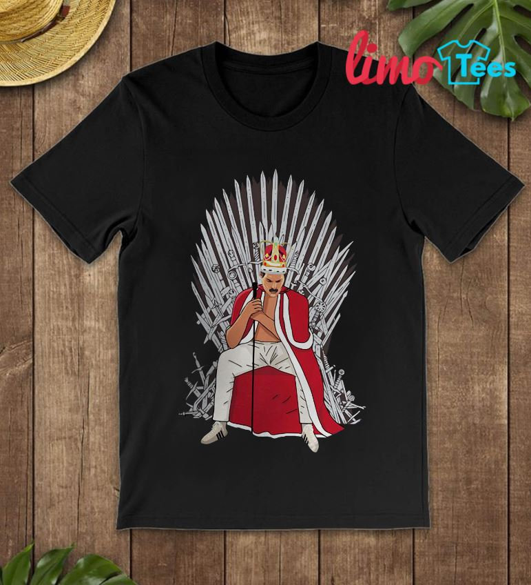 Freddie Mercury king Game Of Thrones shirt