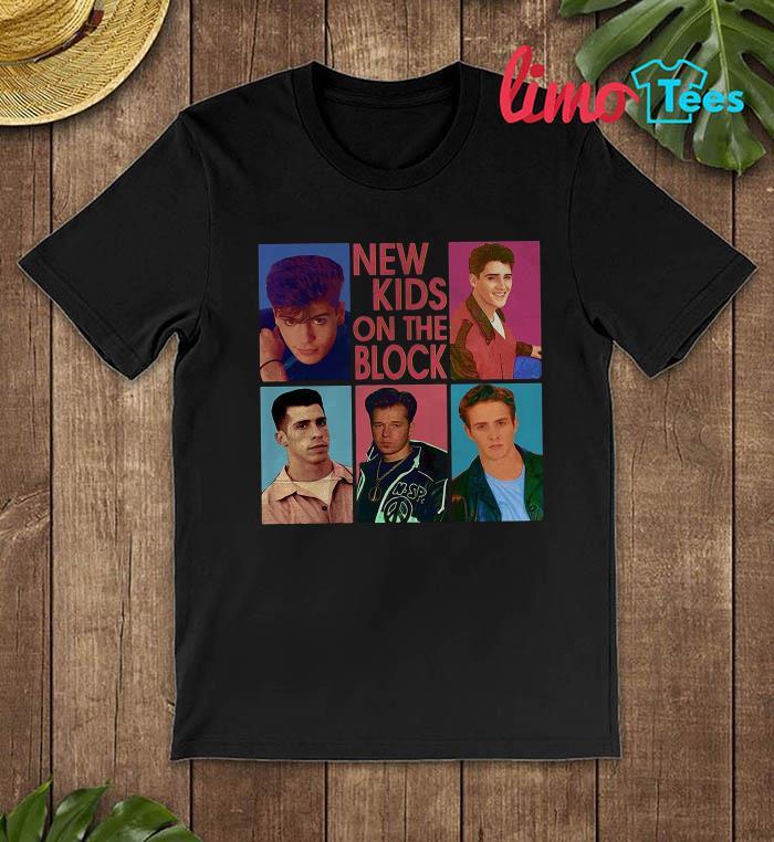 New Kids on the Block mixtape tour 2019 shirt