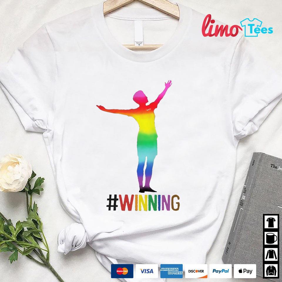 Megan Rapinoe LGBT #winning LGBT shirt