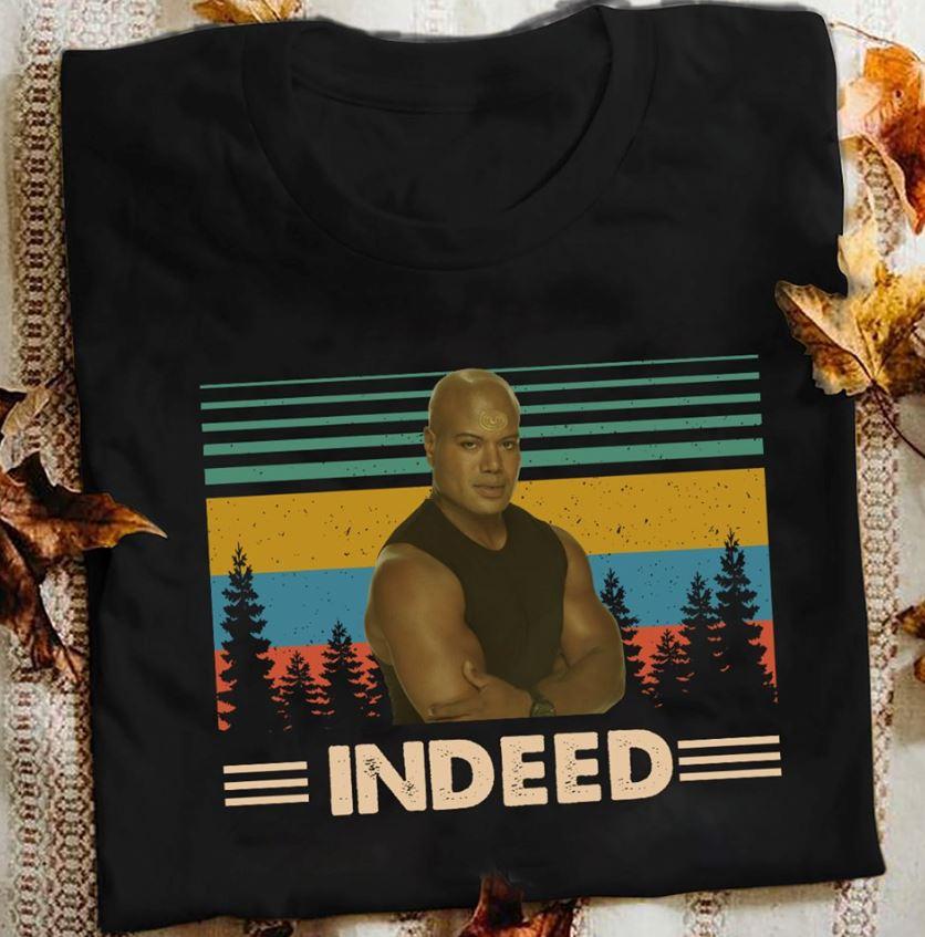 Christopher Judge indeed vintage Stargate shirt