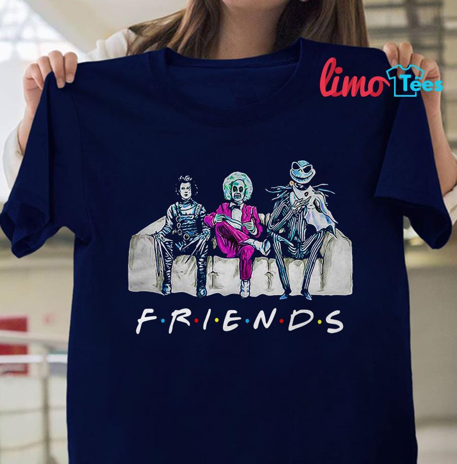 Jack Skellington Friends tv show shirt