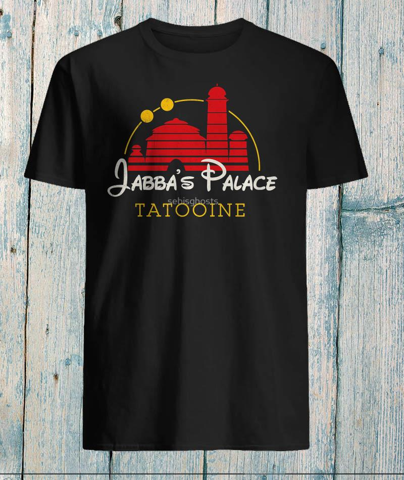 Jabbas palace tatooine star wars t-shirt