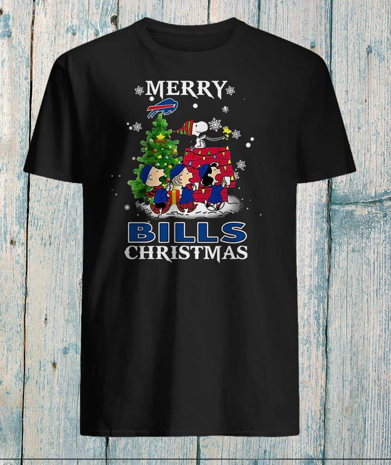 Snoopy merry Buffalo Bills Christmas shirt