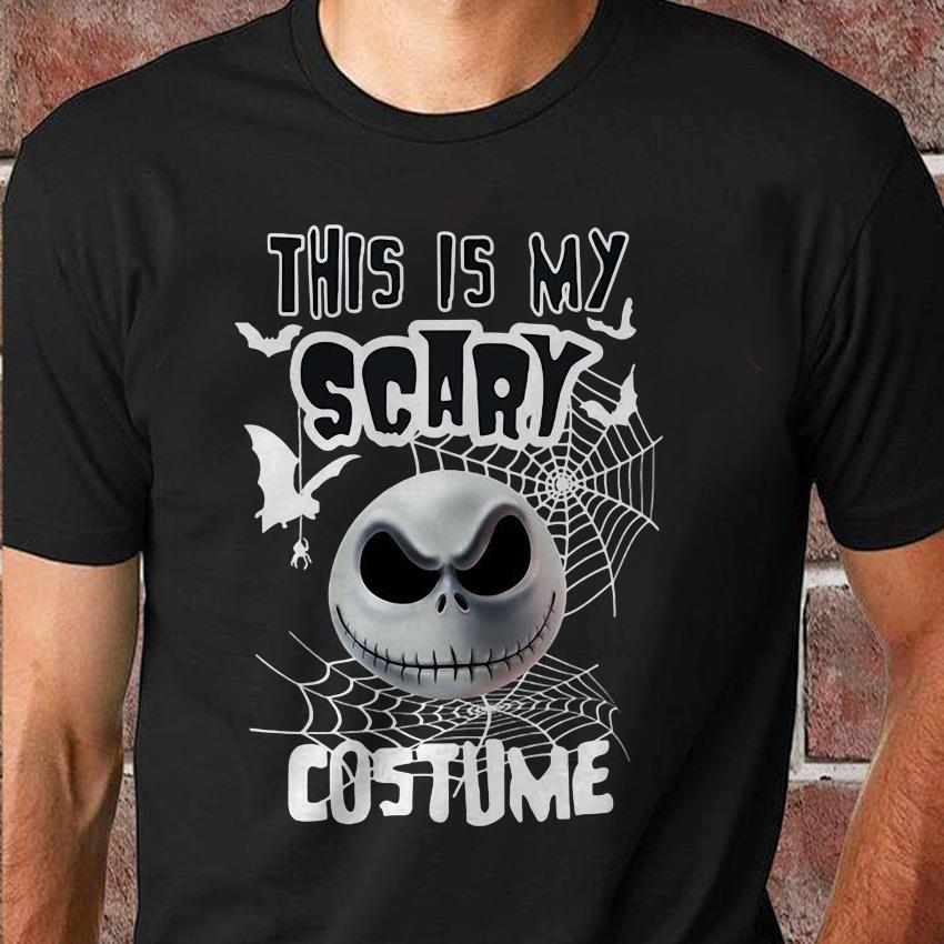 This is my scary costume halloween Jack Skellington unisex shirt
