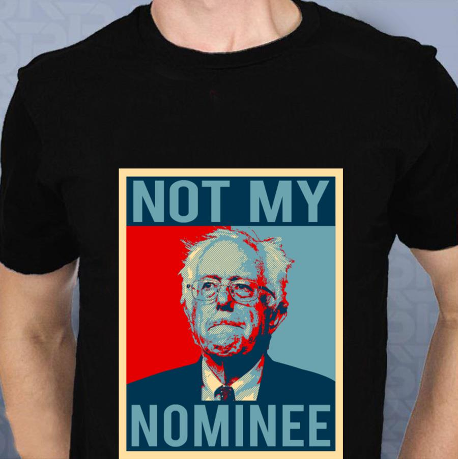 Anti Democratic Socialism Bernie Sanders Not My Nominee t-s t-shirt
