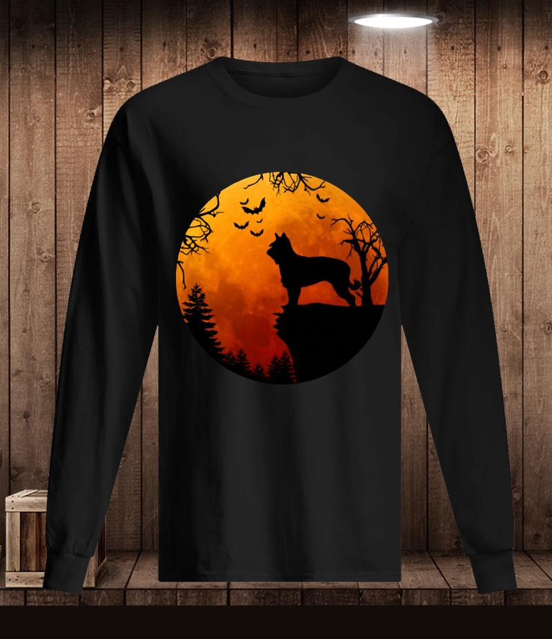 Berger Picard Love Darkness blood moon t-s Longsleeve