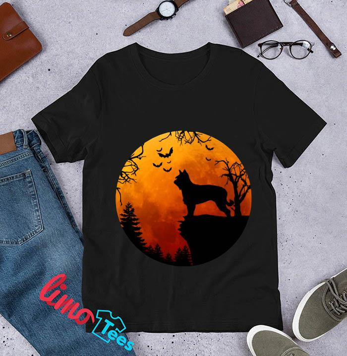 Berger Picard Love Darkness blood moon t-s unisex