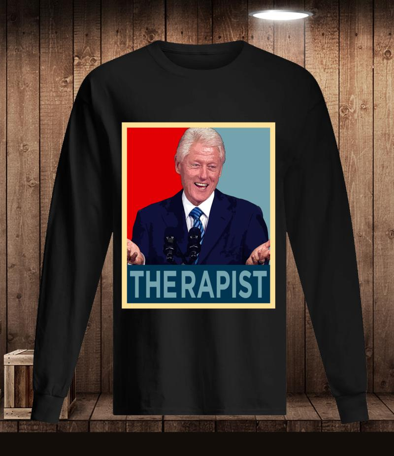 Bill Clinton therapist t-s Longsleeve