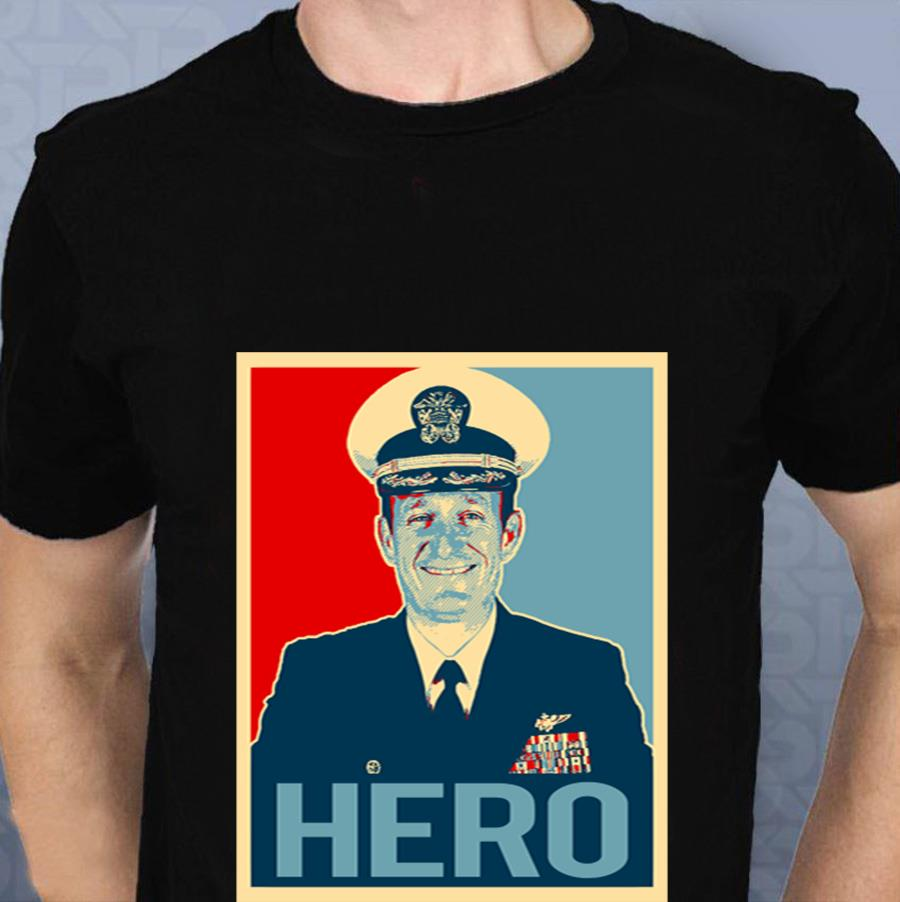Captain Brett Crozier hero t-s t-shirt