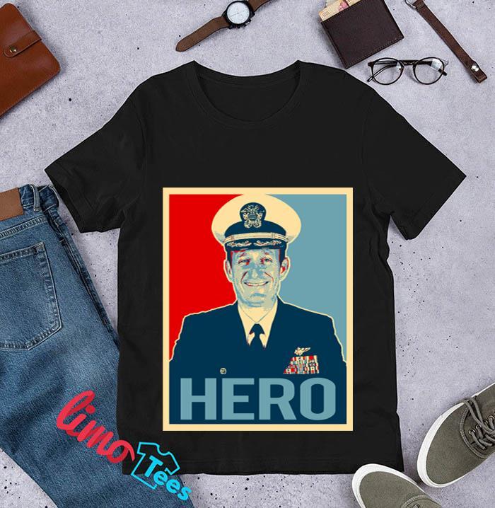 Captain Brett Crozier hero t-s unisex