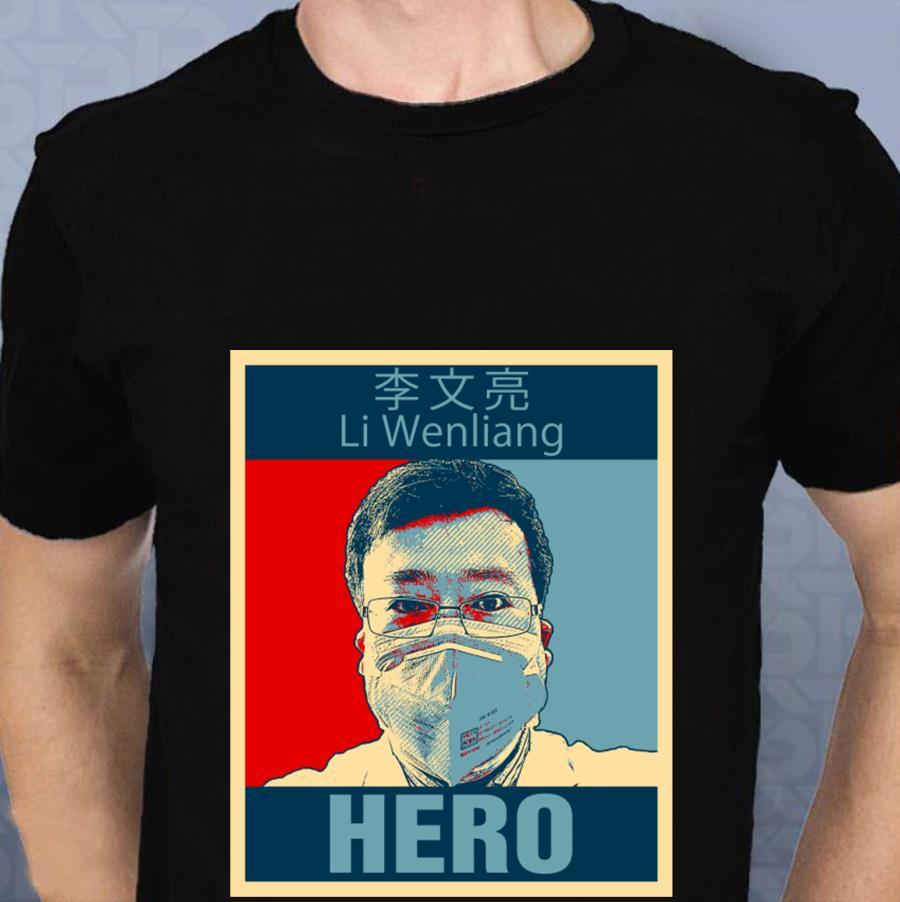 Doctor Li Wenliang Hero t-s t-shirt