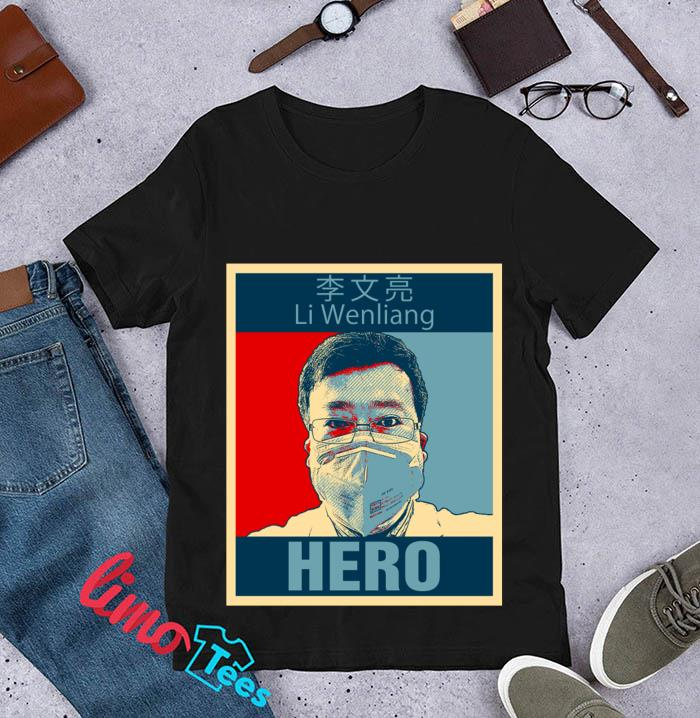 Doctor Li Wenliang Hero t-s unisex