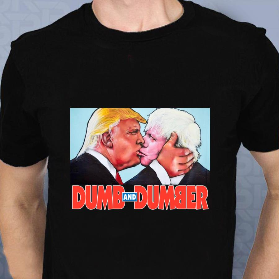 Dumb and Dumber Trump Boris t-s t-shirt