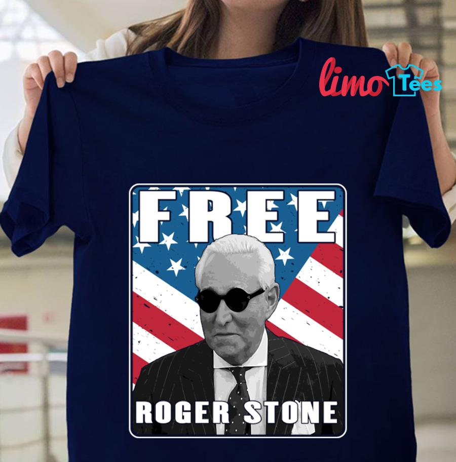 Free Roger Stone American Patriot t-shirt