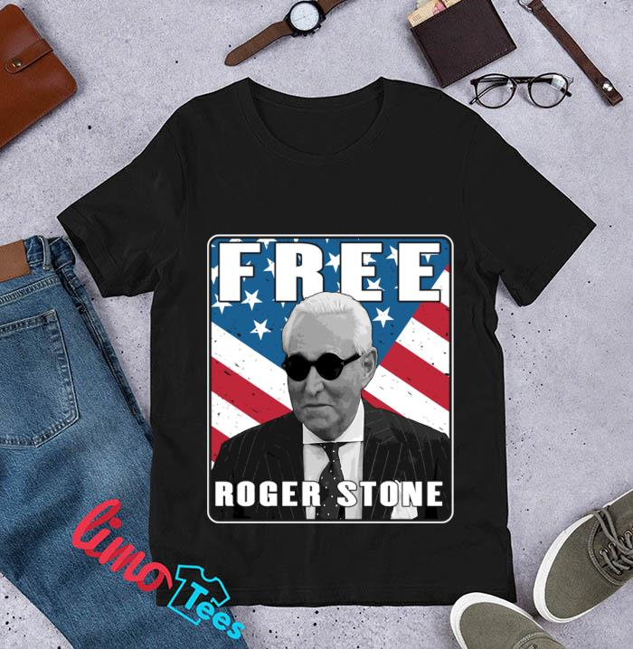 Free Roger Stone American Patriot t-s unisex