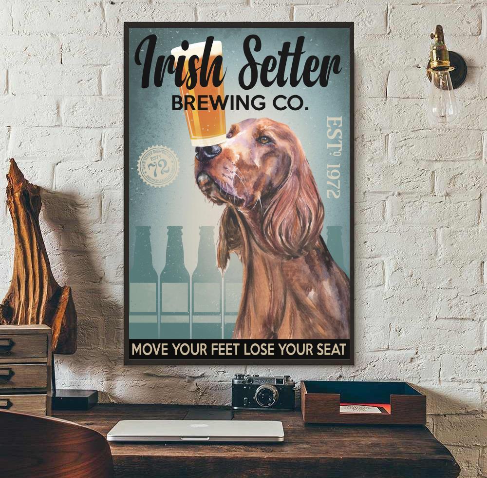 Irish Setter Brewing Co poster wall art
