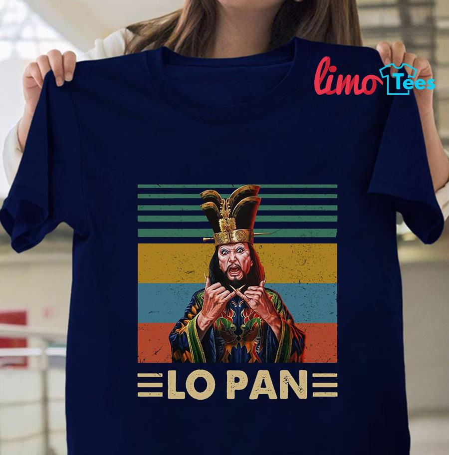 Lo Pan vintage Big Trouble in Little China t-shirt