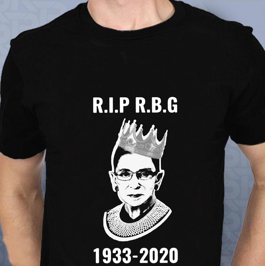 Rip Ruth Bader Ginsburg 1933-2020 women's rights t-s t-shirt