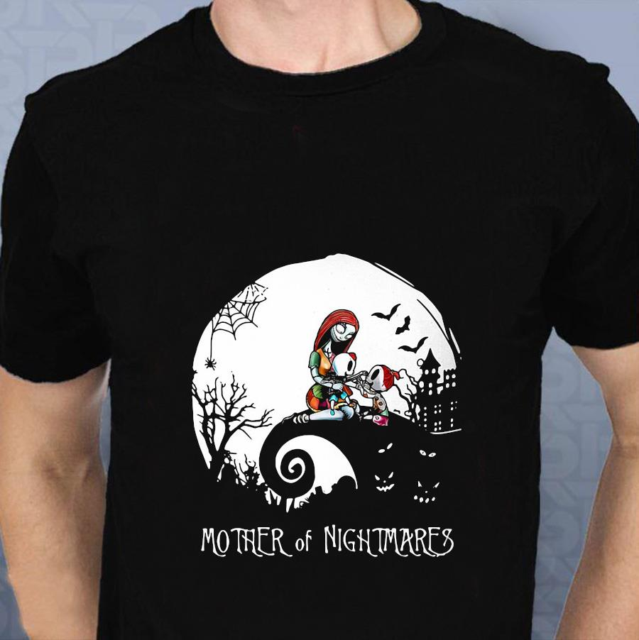 Sally mother of nightmares halloween moon t-shirt