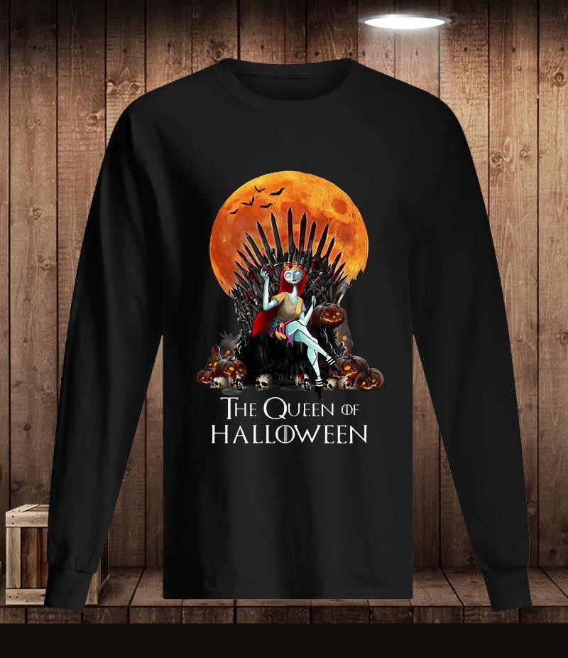 Sally Princess the queen of Halloween t-s Longsleeve