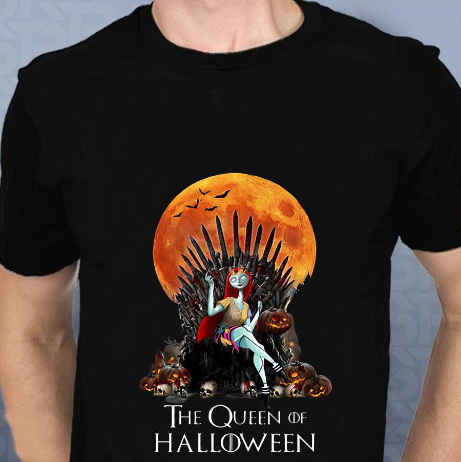 Sally Princess the queen of Halloween t-shirt