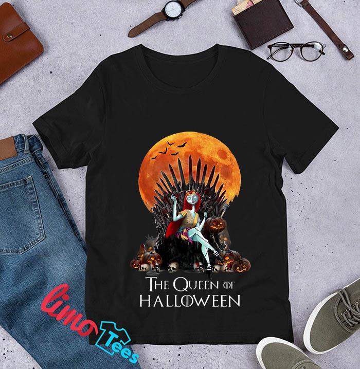 Sally Princess the queen of Halloween t-s unisex