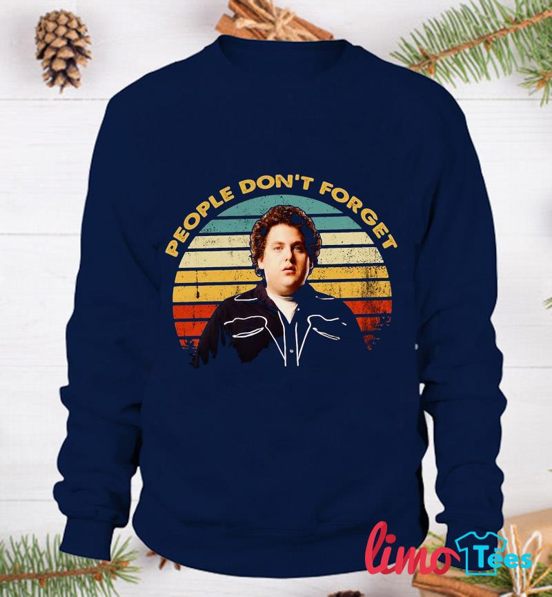 Superbad people don't forget vintage t-s sweatshirt