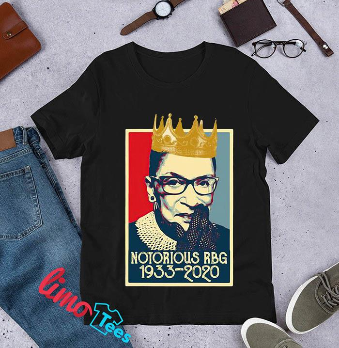 Vintage Notorious Rbg Ruth Bader Ginsburg 1933-2020 t-s unisex