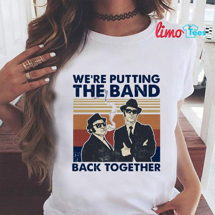 We're putting the band back together vintage t-s ladies