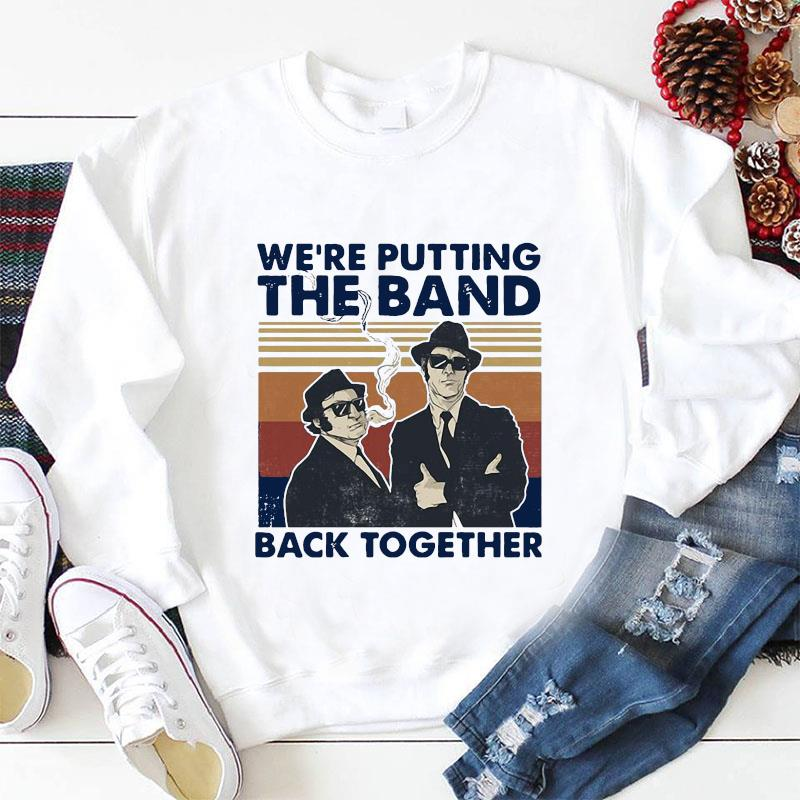 We're putting the band back together vintage t-s longsleeve