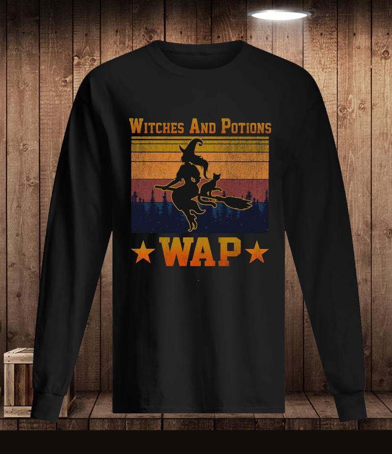 Witches And Potions wap vintage retro t-s Longsleeve