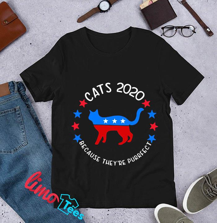 Cats 2020 because they're purrfect t-s unisex