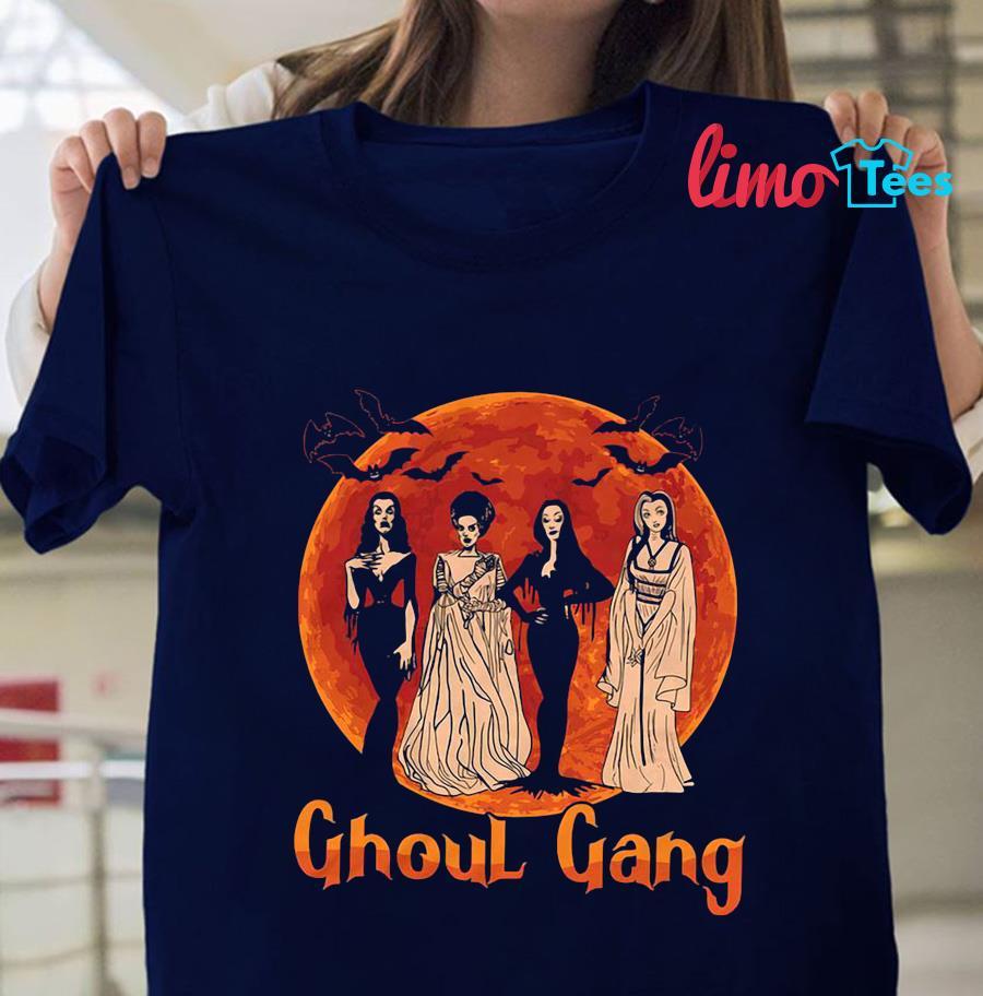 Ghoul Gang Sunset Halloween Squad Goals t-shirt