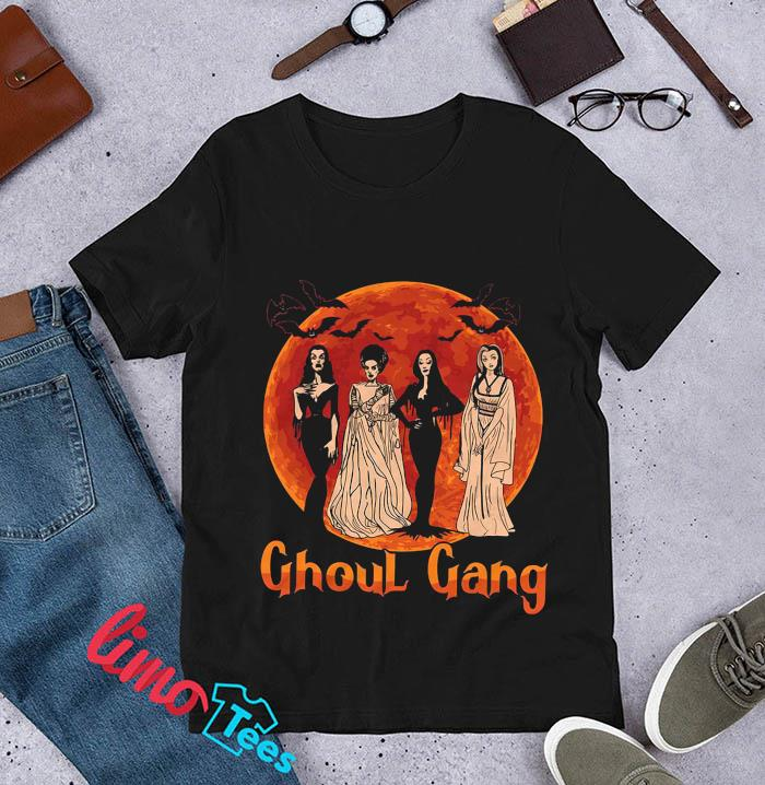 Ghoul Gang Sunset Halloween Squad Goals t-s unisex