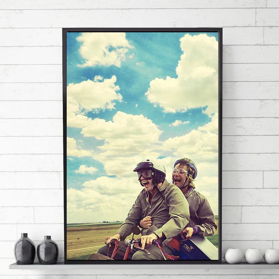 Jim Carrey Dumb and Dumber canvas