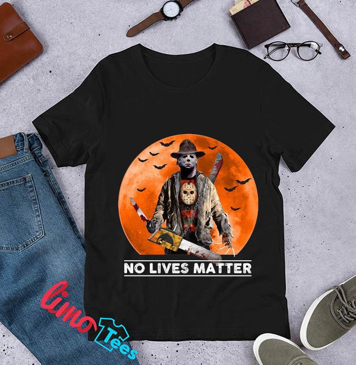 Michael Myers blood moon no lives matter t-s unisex