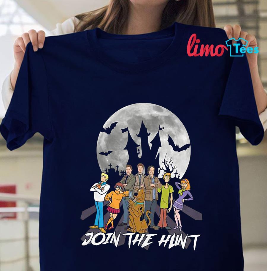 Supernatural join the hunt t-shirt