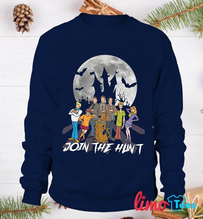 Supernatural join the hunt t-s sweatshirt
