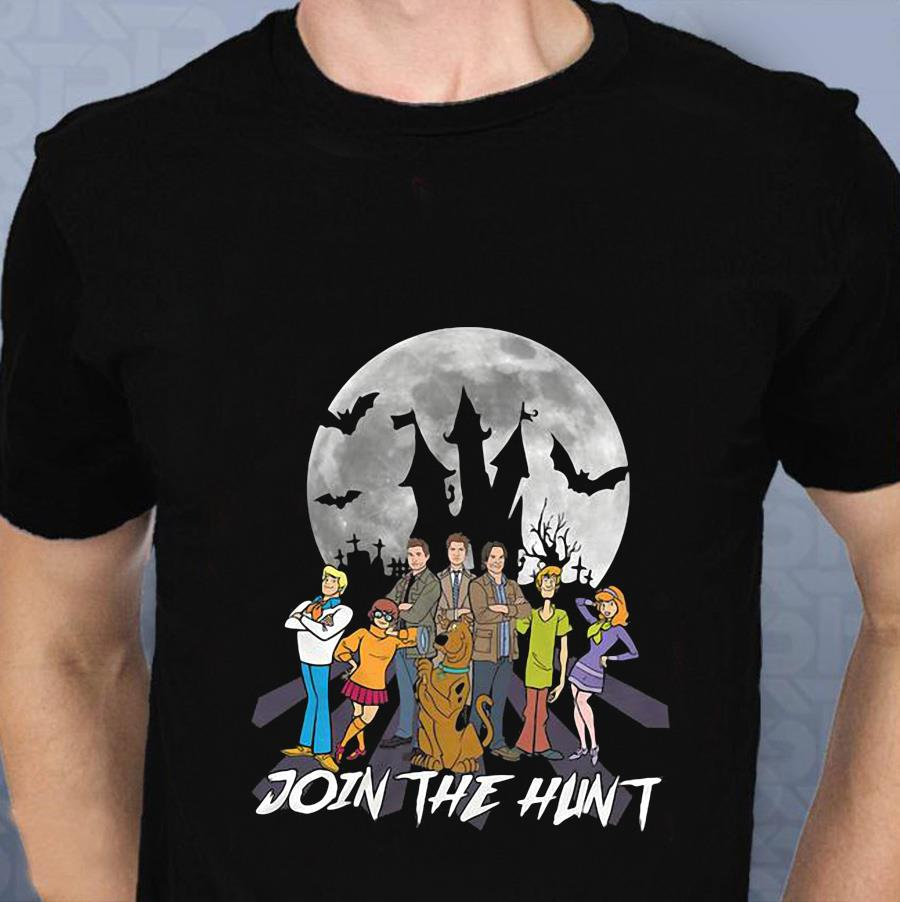 Supernatural join the hunt t-s t-shirt