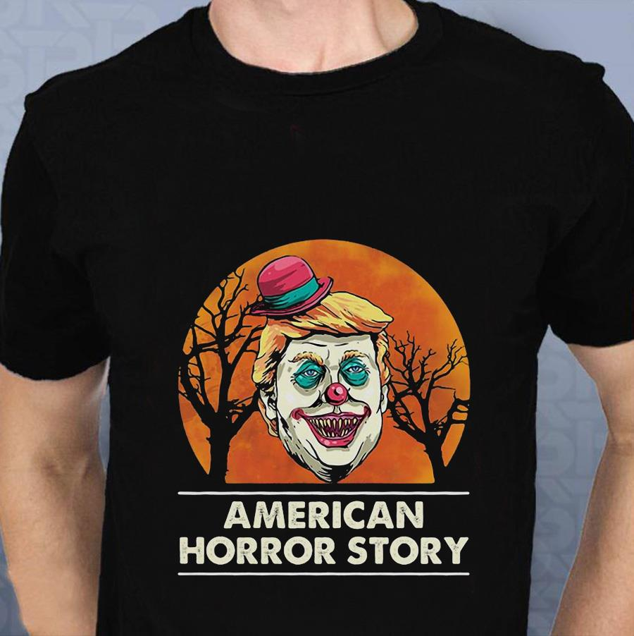 Trump Clown American Horror Story t-s t-shirt